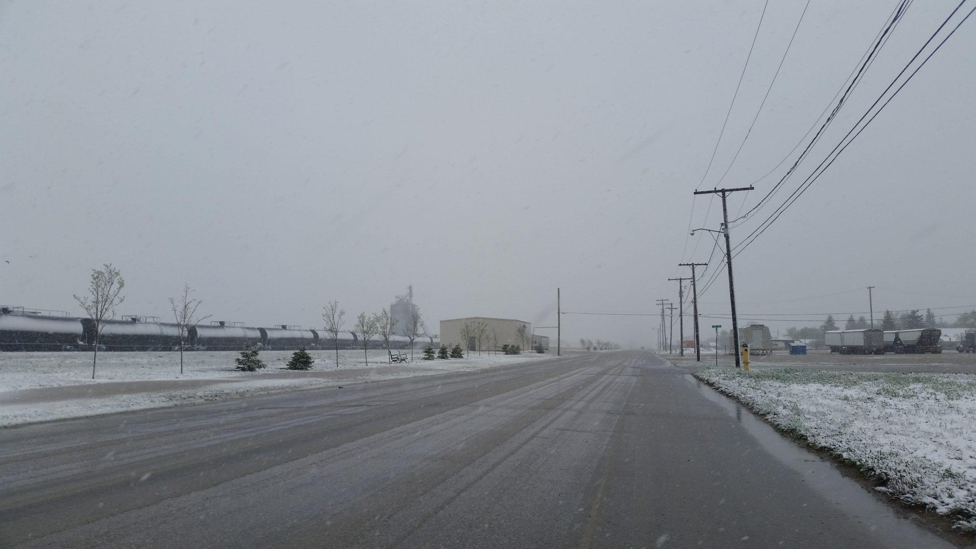 Slick Road Conditions